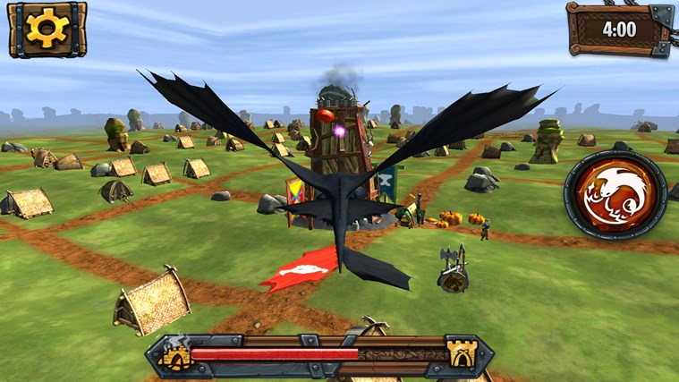 DreamWorks Dragons Adventure screen shot 1