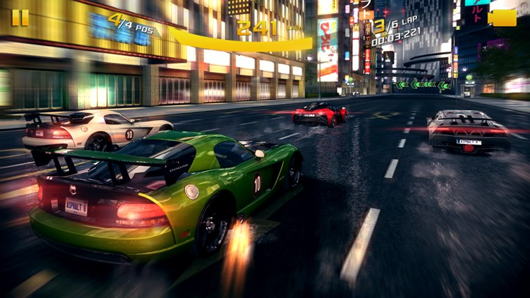 Asphalt 8: Airborne screen shot 3