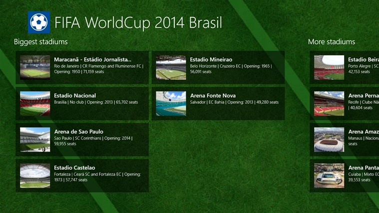 FIFA World Cup 2014 Brasil screen shot 3