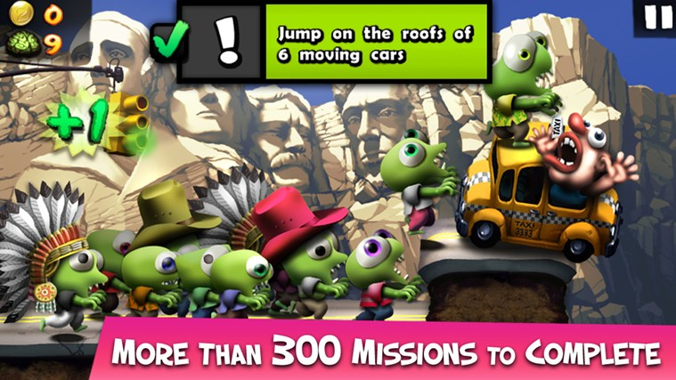 Zombie Tsunami screen shot 3