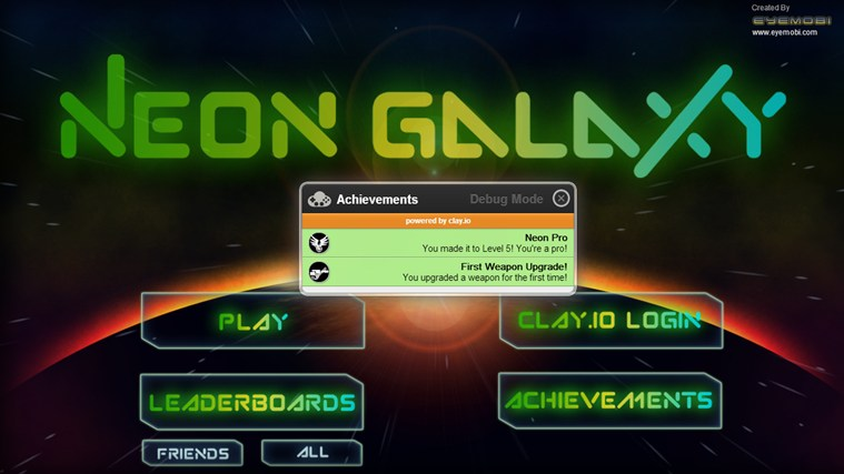 Neon Galaxy screen shot 7