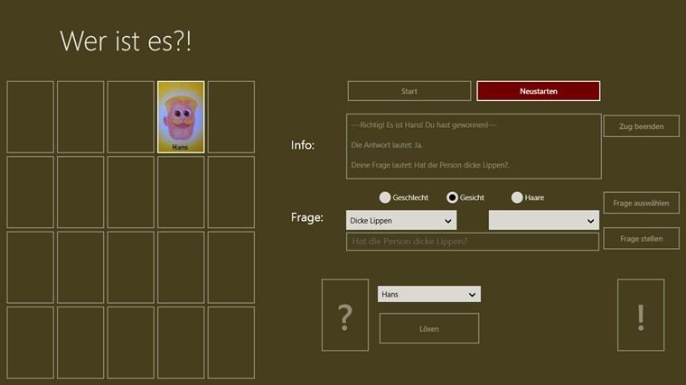 Wer ist es?! Screenshot 3