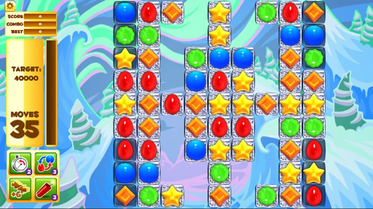 Jelly Smash with Angry Gran screen shot 3