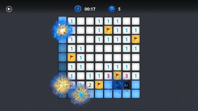 Microsoft Minesweeper snímek obrazovky 1
