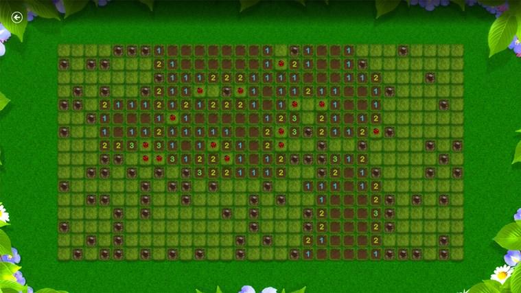 Microsoft Minesweeper snímek obrazovky 5