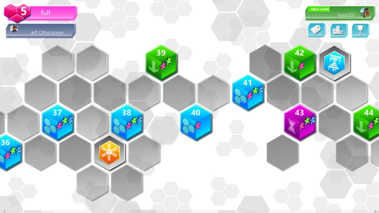 Hexic screen shot 1