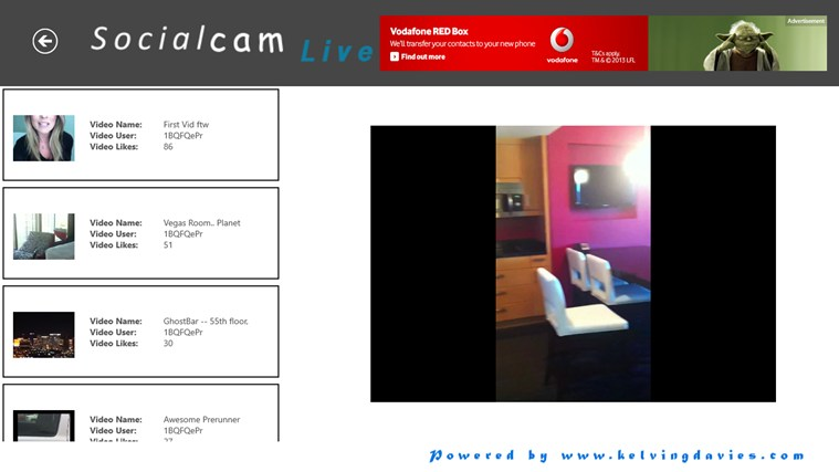 Socialcam Live screen shot 3