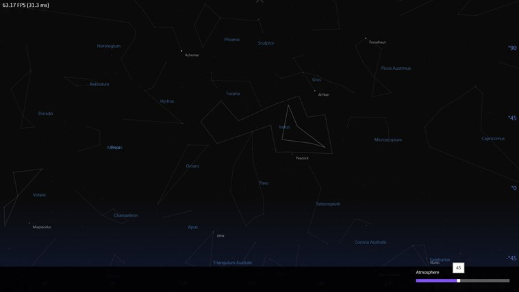 Sky Map screen shot 3
