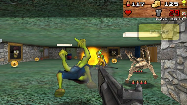 3D Zombienstein screen shot 3