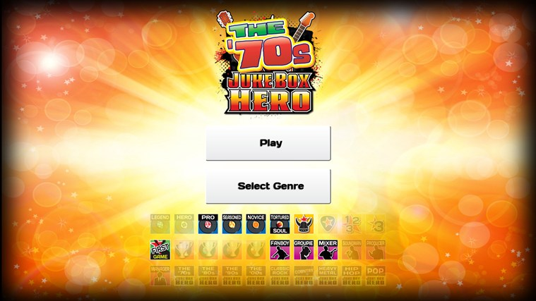 Jukebox Hero screen shot 3