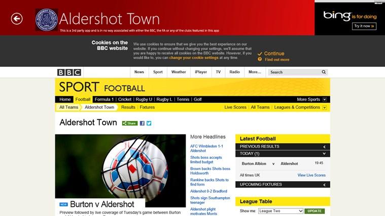BBC Football My Club cattura di schermata 1