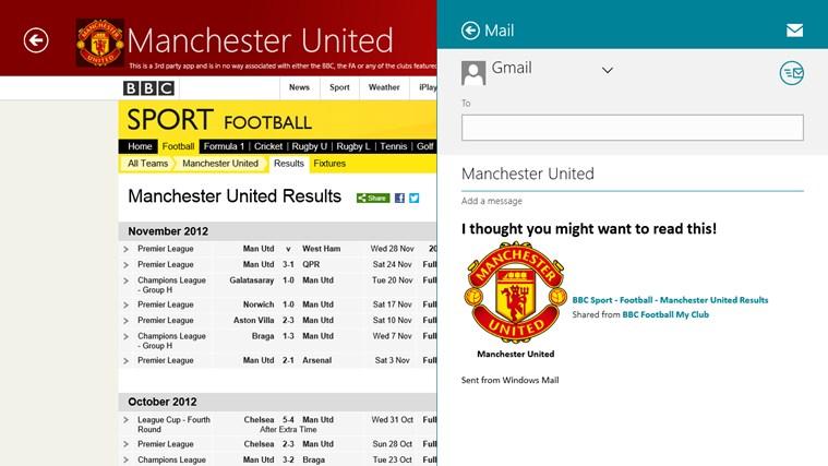 BBC Football My Club cattura di schermata 3