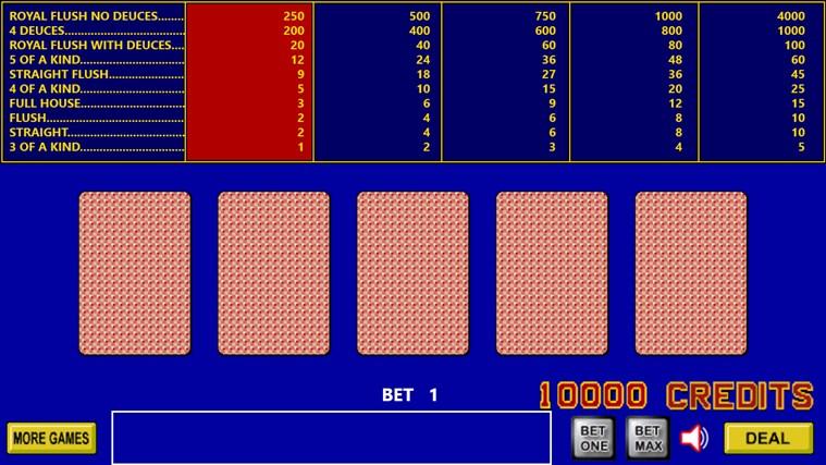 King Poker screen shot 1