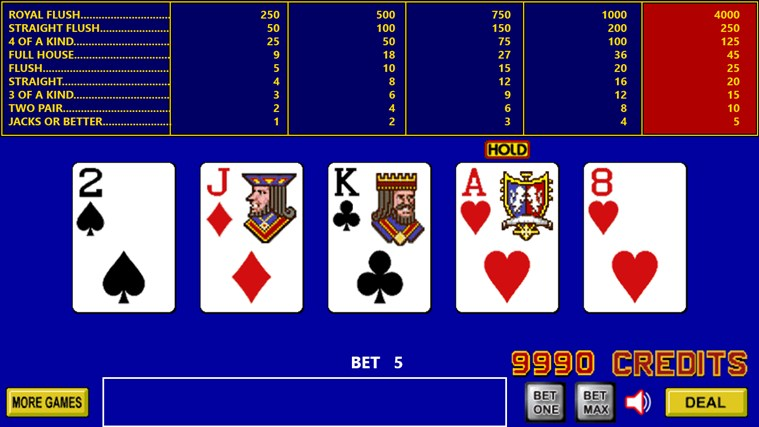 King Poker screen shot 3