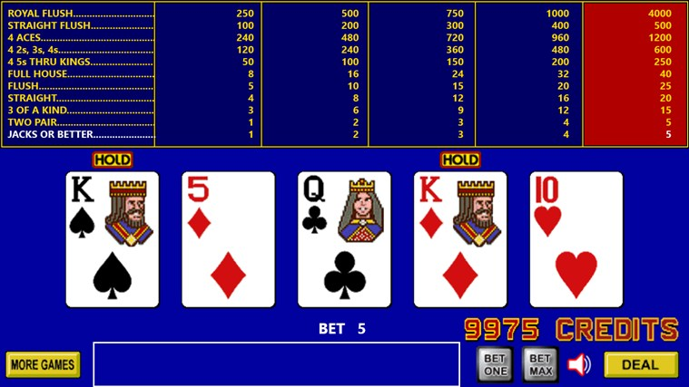 King Poker screen shot 5