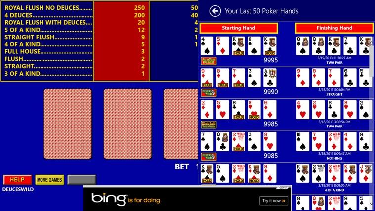 King Poker screen shot 7