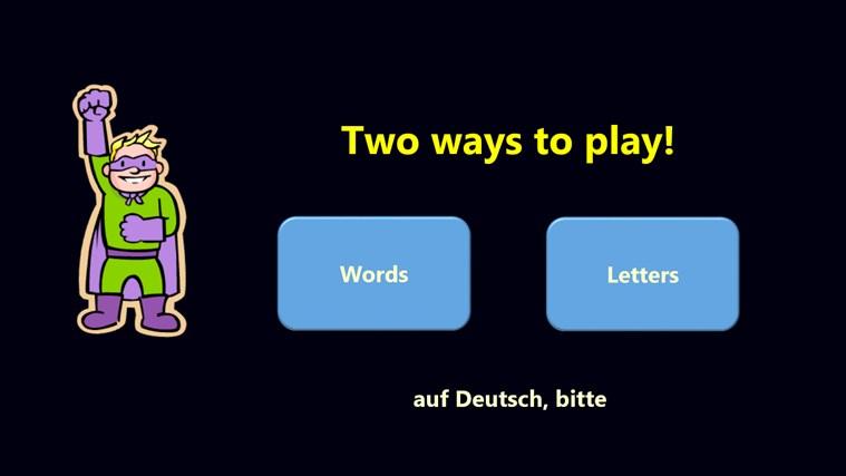 Buchstaben-Bub screen shot 1