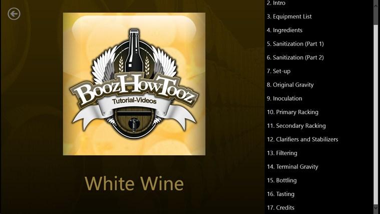 White Wine screenshot 1