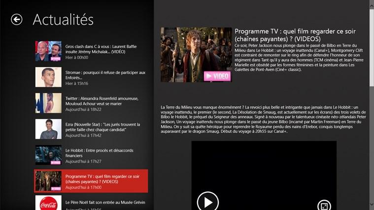 Télé-Loisirs Programme TV capture d'écran 3