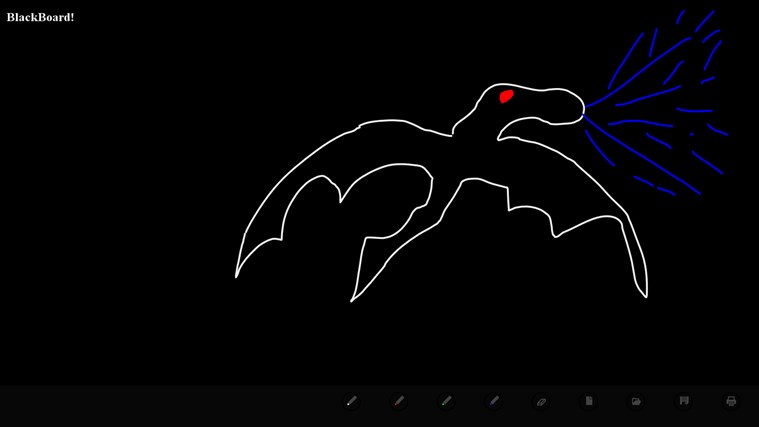 BlackBoard! screen shot 1