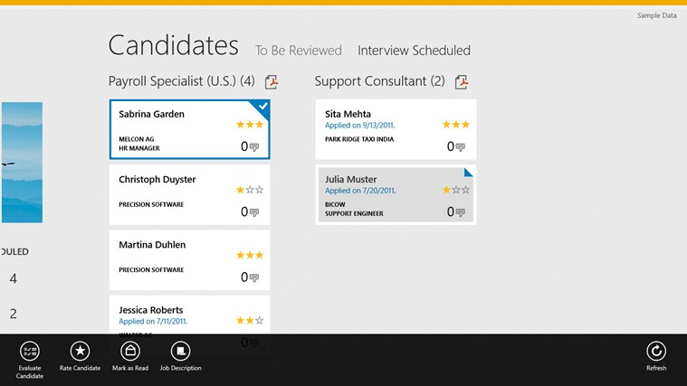 SAP Interview Assistant screen shot 3
