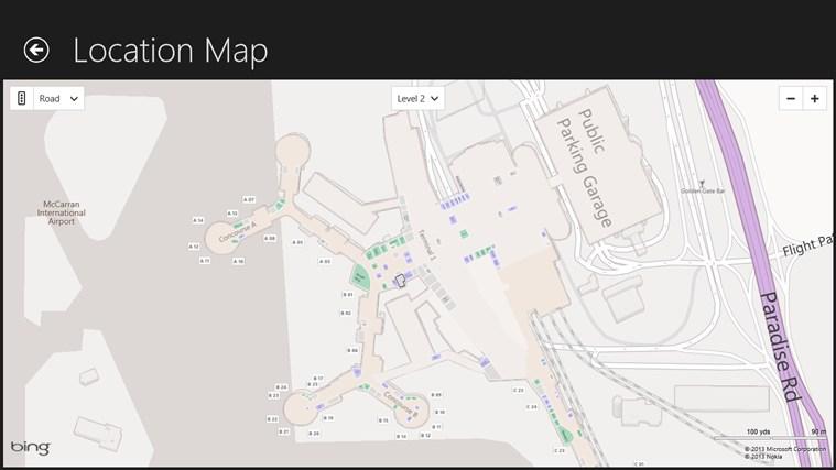 Las Vegas Airport + Flight Tracker screen shot 5