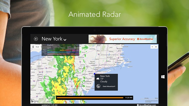 AccuWeather for Windows 8 screen shot 5