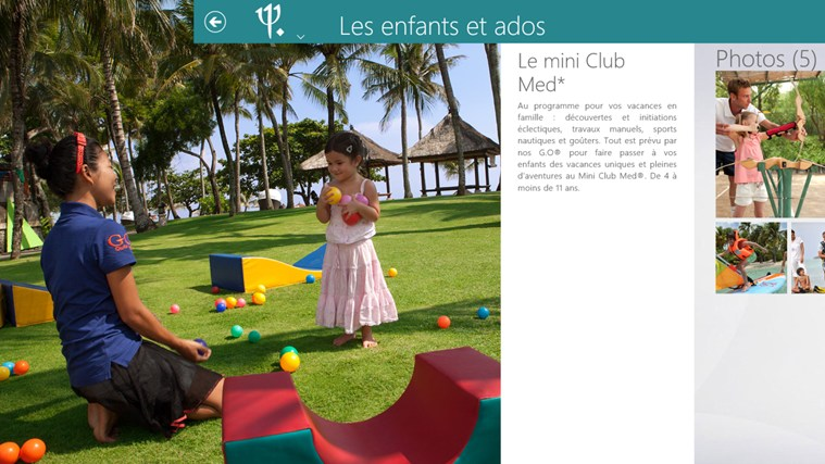 Club Med capture d'écran 3