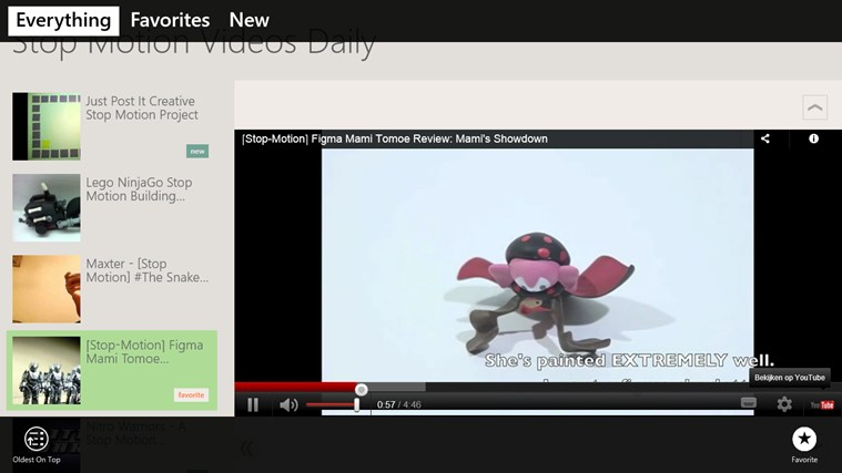 Stop Motion Videos Daily screen shot 1