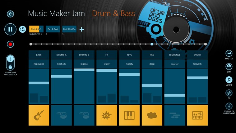 Music Maker Jam captura de tela 1