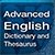 Advanced English Dictionary and Thesaurus