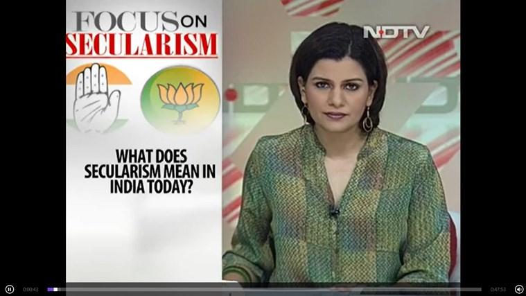 NDTV screen shot 7
