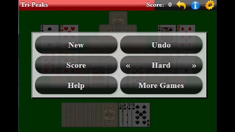 TriPeaks Solitaire (Free) screen shot 3