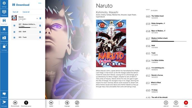 Manga Bird screen shot 3