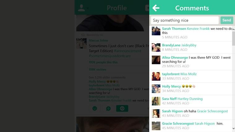 Bine screen shot 5
