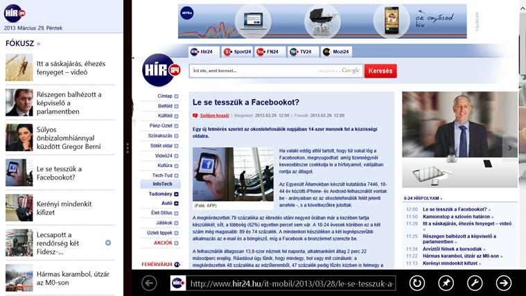Hír24 – 5. képernyőkép