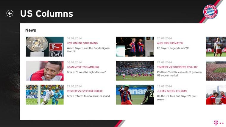 FC Bayern München screen shot 1
