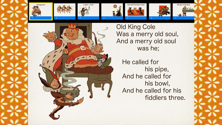 Nursery Rhymes Vol. 5 screen shot 1