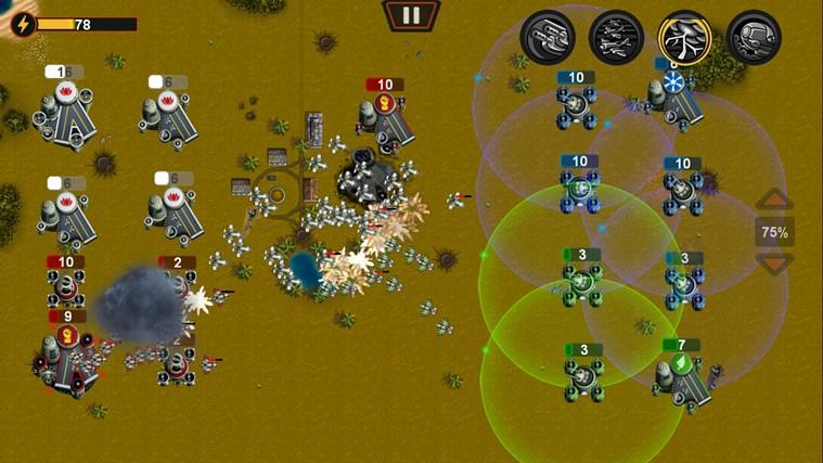 Plane Wars screen shot 3