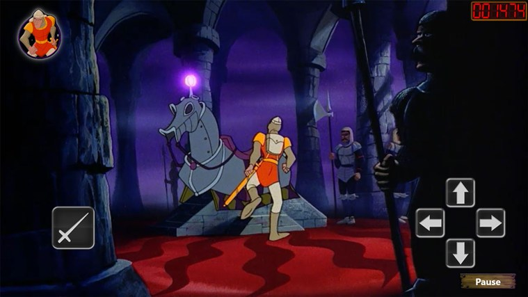 Dragon's Lair screen shot 1