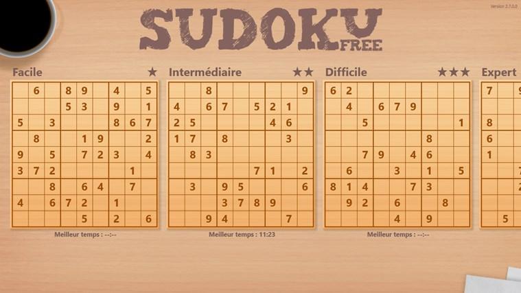 Sudoku Free capture d'écran 1