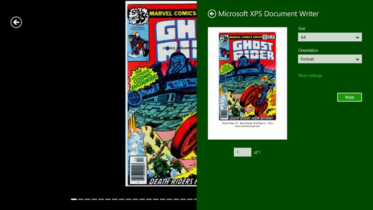 Comics Cover Browser screenshot 3