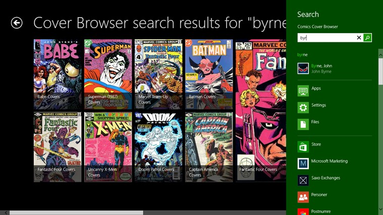 Comics Cover Browser screenshot 5