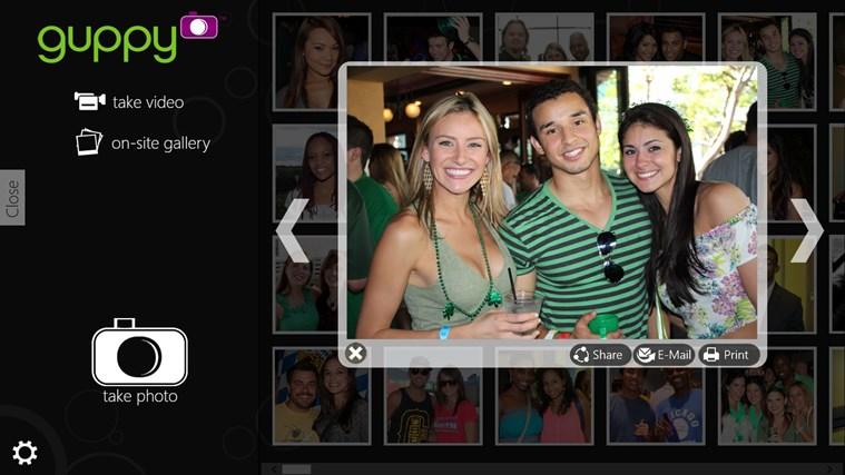 Guppy Photo Booth näyttökuva 1