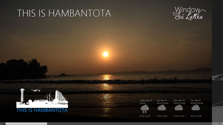 This is Hambantota screen shot 1