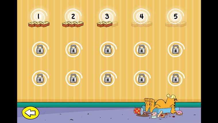 Feed Garfield! screen shot 5