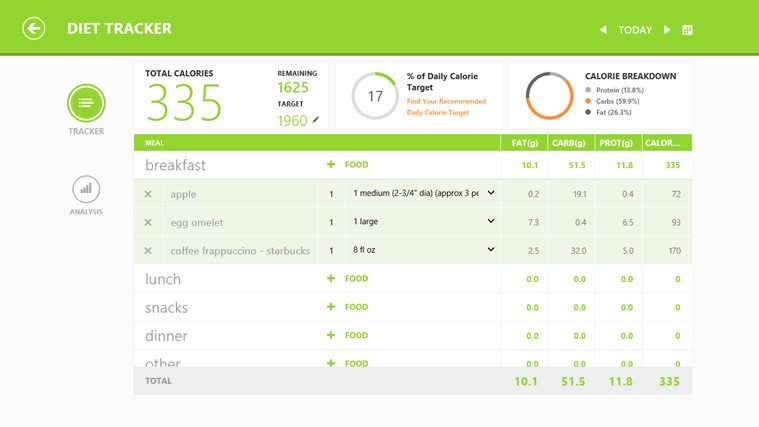 MSN Health & Fitness screen shot 3