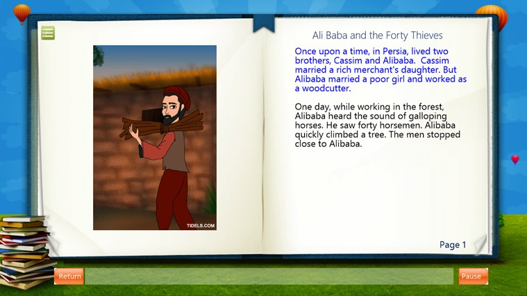 Ali Baba and the Forty Thieves captura de pantalla 1