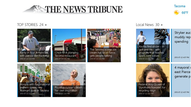 The News Tribune screen shot 1