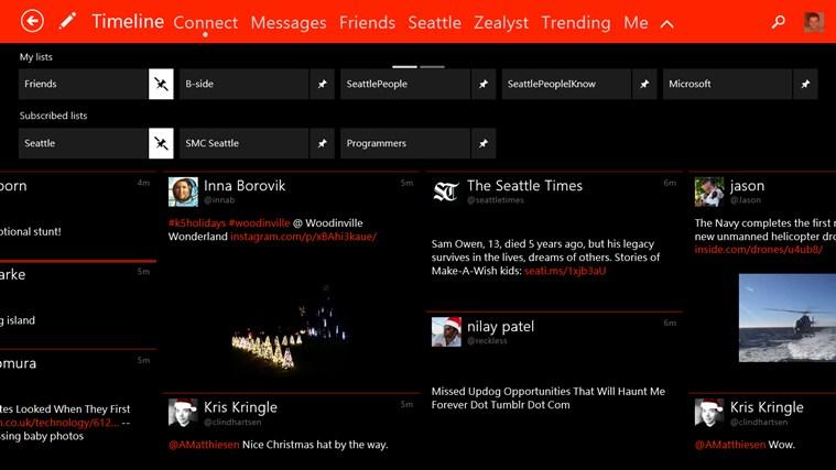 Tweetium screen shot 1
